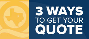 3 Ways to get a quote from QuoteTexas