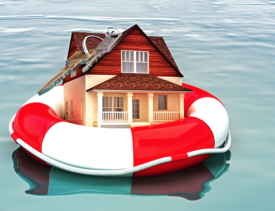 Imagery of the benefits of having home insurance
