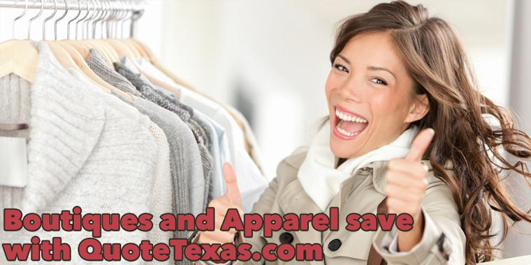 Boutiques & Apparel save with quotetexas.com