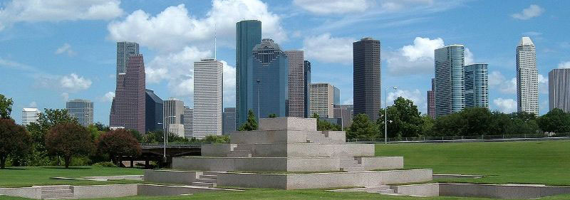 The skyline of Houston, Texas