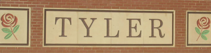 Tyler Welcome Sign